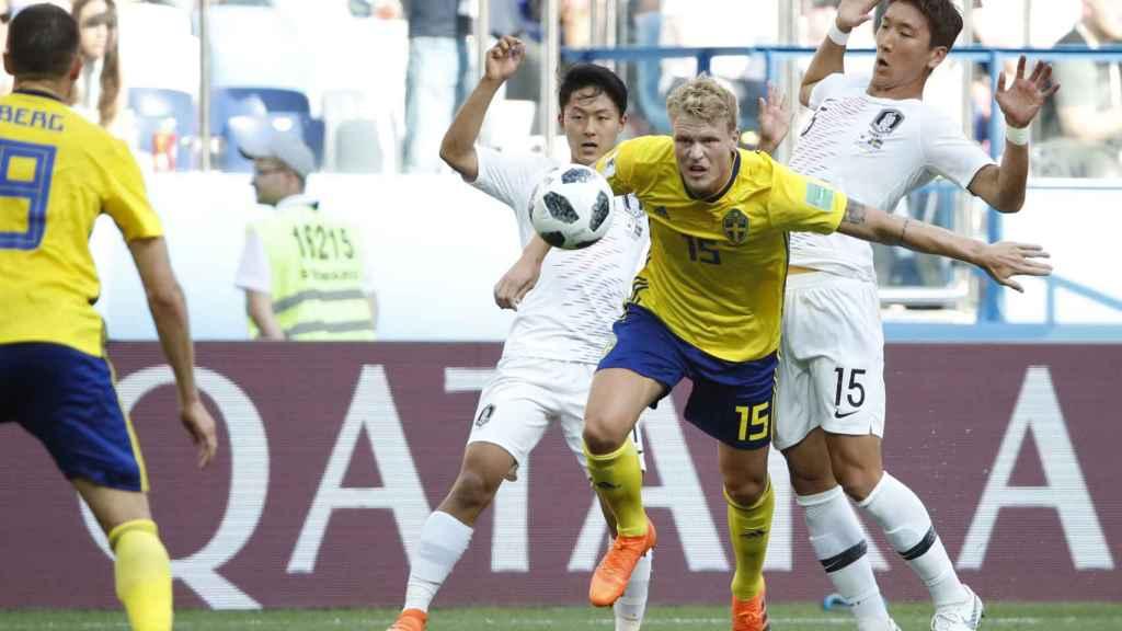 Suecia se encerró atrás tras el gol del penalti y mantuvo el 1-0 para llevarse la victoria.