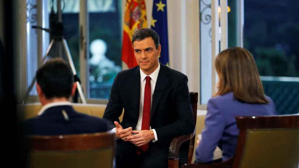 Entrevista al presidente del Gobierno, Pedro Sánchez, en TVE.