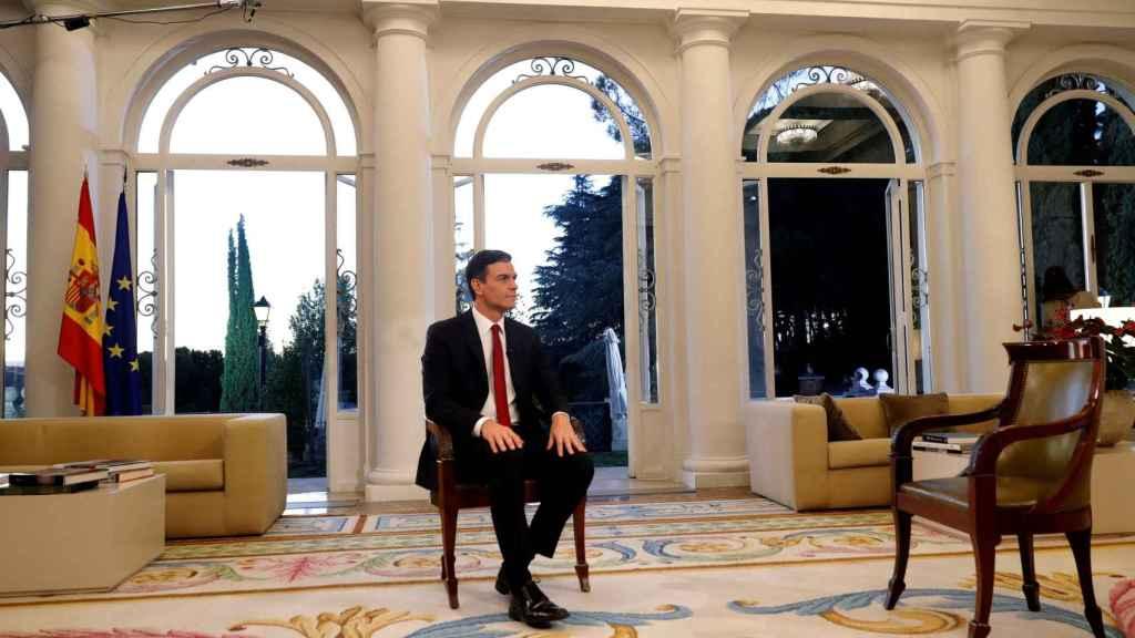 Entrevista al presidente del Gobierno, Pedro Sánchez, en TVE