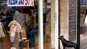El local de un pequeño comercio, en una imagen de archivo.