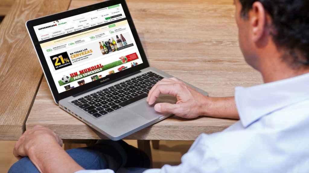 La nueva web del Supermercado de El Corte Inglés.