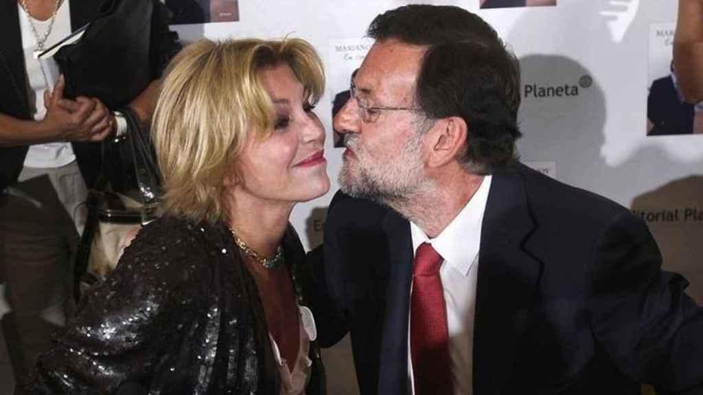 Carmen Cervera lo intentó con Mariano Rajoy.