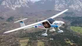 Avión eléctrico.