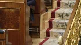 Rafael Hernando, en una imagen de archivo en el Congreso de los Diputados.