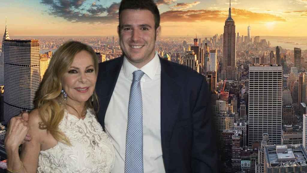 Álex Lequio y Ana Obregón llevan dos meses y medio en Nueva York.
