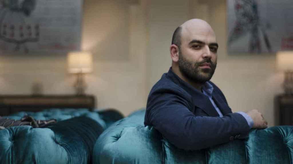 El autor de Gomorra, Roberto Saviano.
