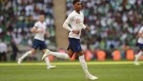 Rashford, internacional con Inglaterra. Foto: Instagram (@marcusrashford).