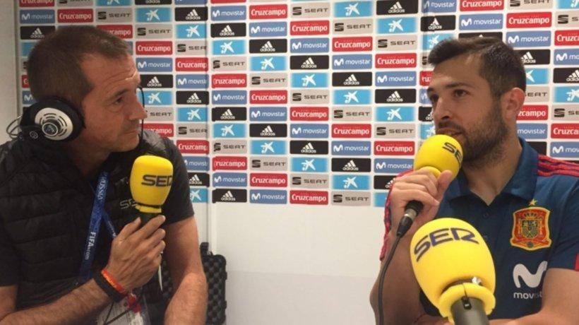 Jordi Alba se retrata: ¿El VAR? No me hace gracia, me gusta picarme con la gente