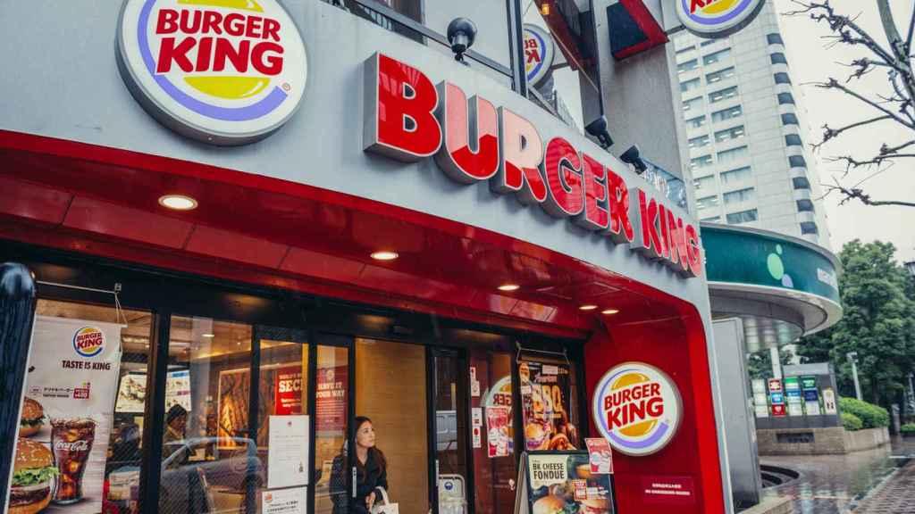 Un establecimiento de Burger King.