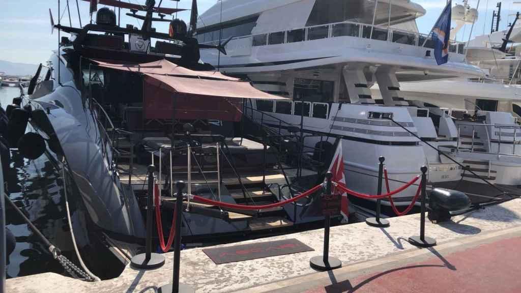 'Ascari', el barco favorito de Cristiano Ronaldo.