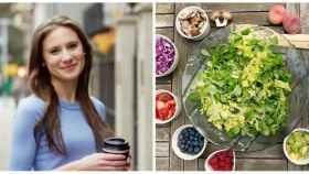 Rachel Paul utiliza el aguacate o el pollo en las ensaladas de forma habitual.