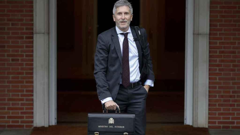 Fernando Grande-Marlaska, en su presentación como ministro.