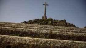 Escaleras hacia la Basílica del Valle de los Caídos.
