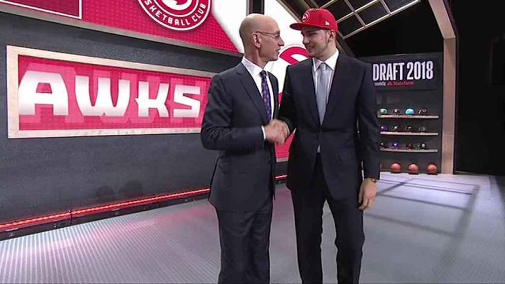Luka Doncic, elegido Nº3 del Draft de la NBA