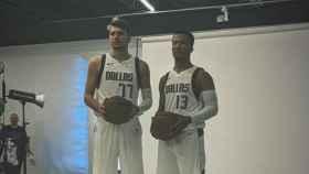 Luka Doncic es presentado con Dallas Mavericks. Foto: Instagram: (@dallasmavs)