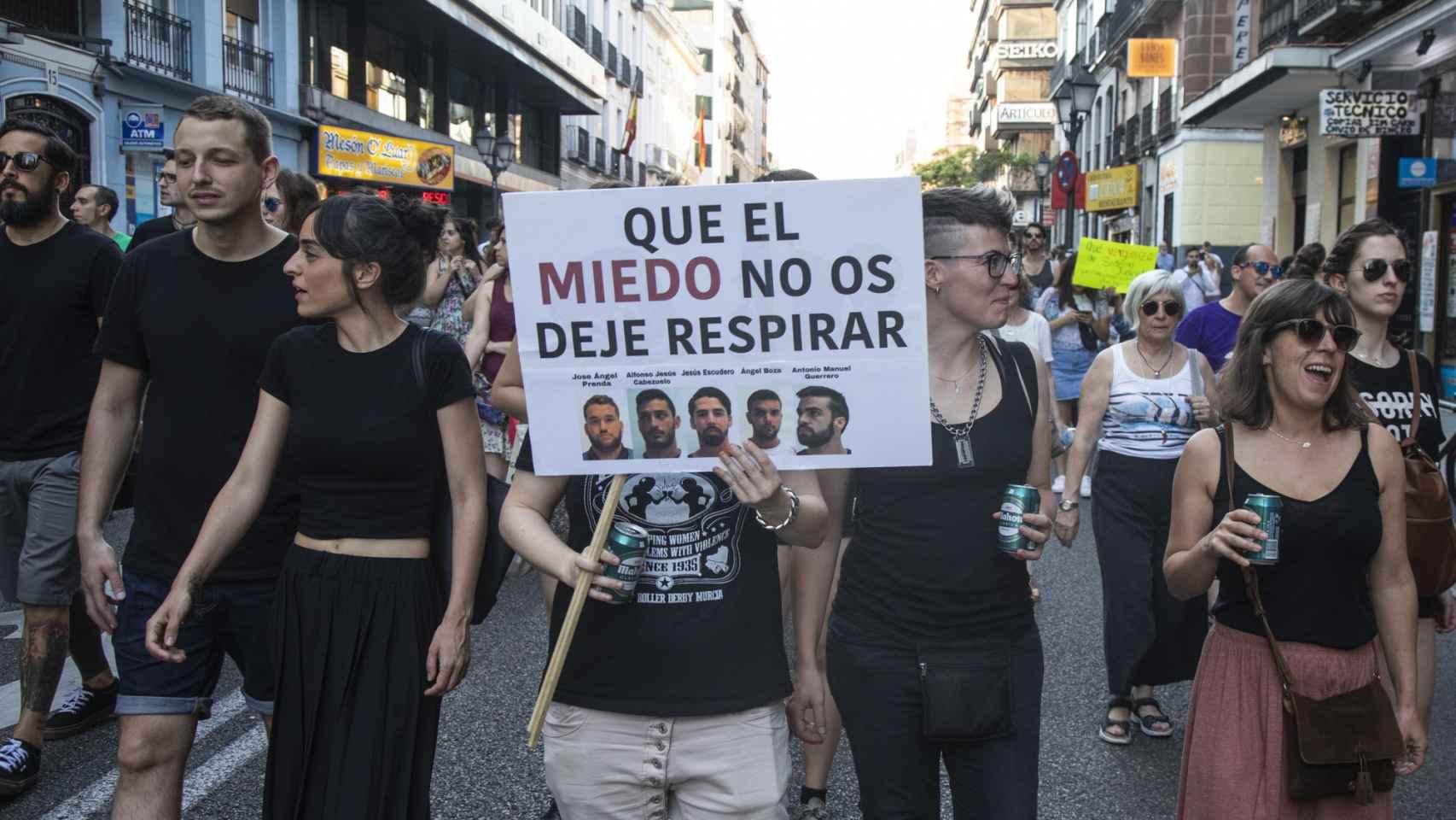 Indignación en las calles contra 'La Manada'