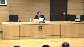 El tribunal de La Manada.