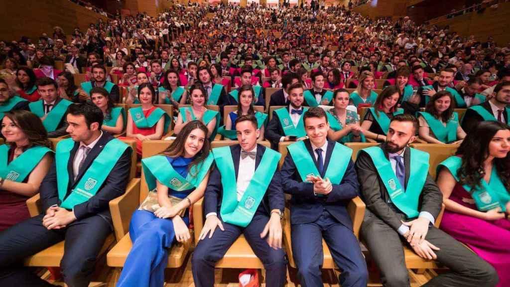 Graduación de la promoción de 2018 de la UEMC