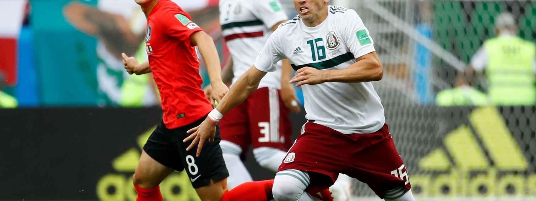 Corea del Sur - México en vivo y en directo: siga el Mundial de Rusia