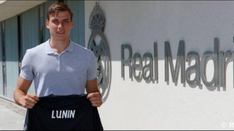 Lunin, nuevo portero del Real Madrid