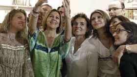 Selfie de Cospedal con Montserrat en Barcelona