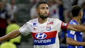 Fekir, en un partido con el Olympique de Lyon. Foto: Twitter (@NabilFekir)