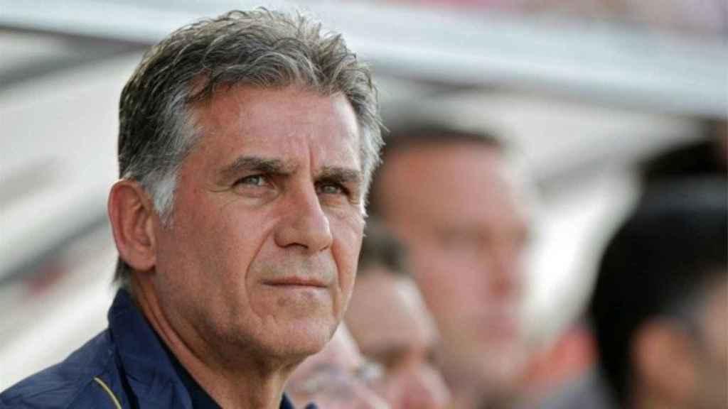 Queiroz, entrenador de Irán. Foto. fifa.com