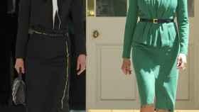 Rania de Jordania y Melania Trump.