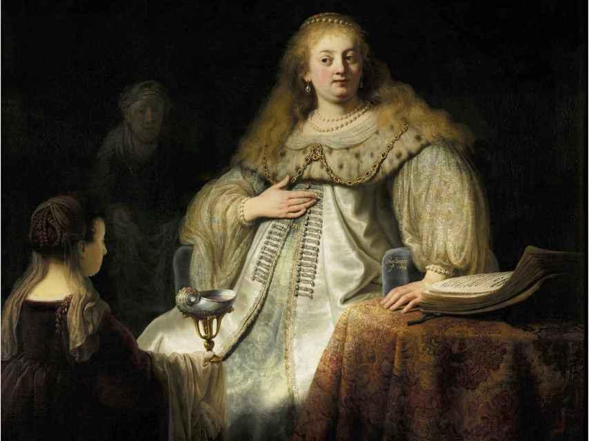 El Rembrandt del Museo del Prado: Judith en el banquete de Holofernes.
