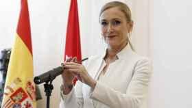 La expresidenta madrileña, Cristina Cifuentes