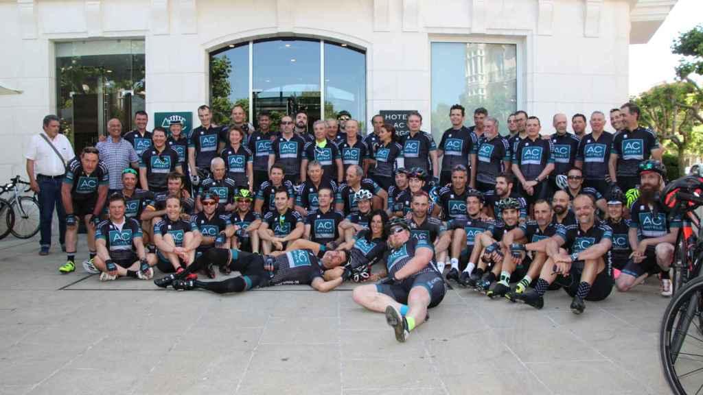 Los participantes de la edición 28 de la Ruta Xacobea de AC Hotels by Marriott.