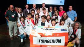El equipo FSINGENIUM de Pamplona.