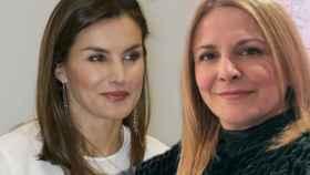 La reina Letizia e Imma Aguilar.