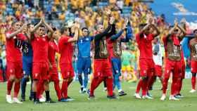 Los peruanos se despiden del Mundial.