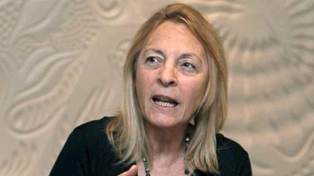 La escritora y académica Soledad Puértolas