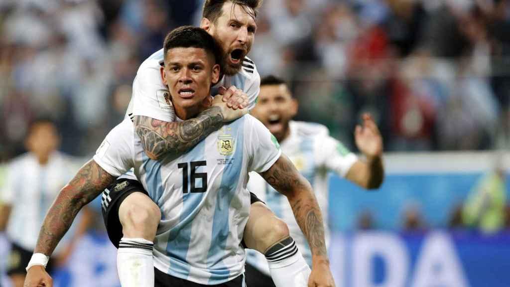 Group D Nigeria vs Argentina