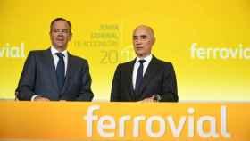 Imagen de archivo de la junta de accionistas de Ferrovial.