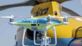 Dron de la DGT en pruebas