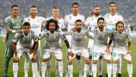 Once del Real Madrid en la final de Champions