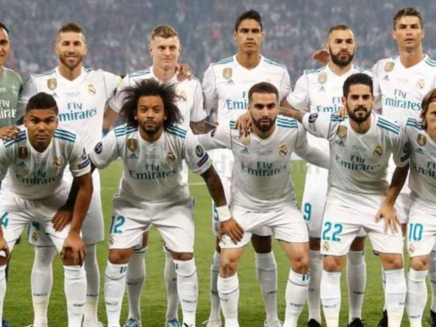 Once del Real Madrid en la final de Champions