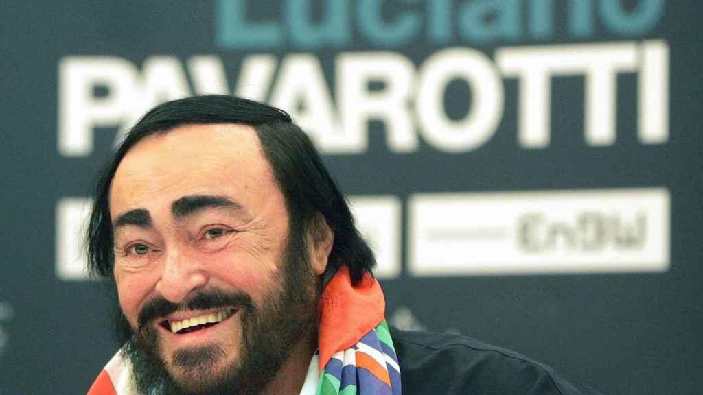 Luciano Pavarotti en una imagen de 2005.