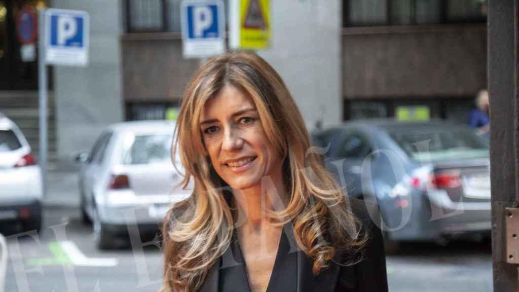 Begoña Gómez en su primer acto público como primera dama.