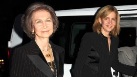 La reina Sofía y la infanta Cristina.