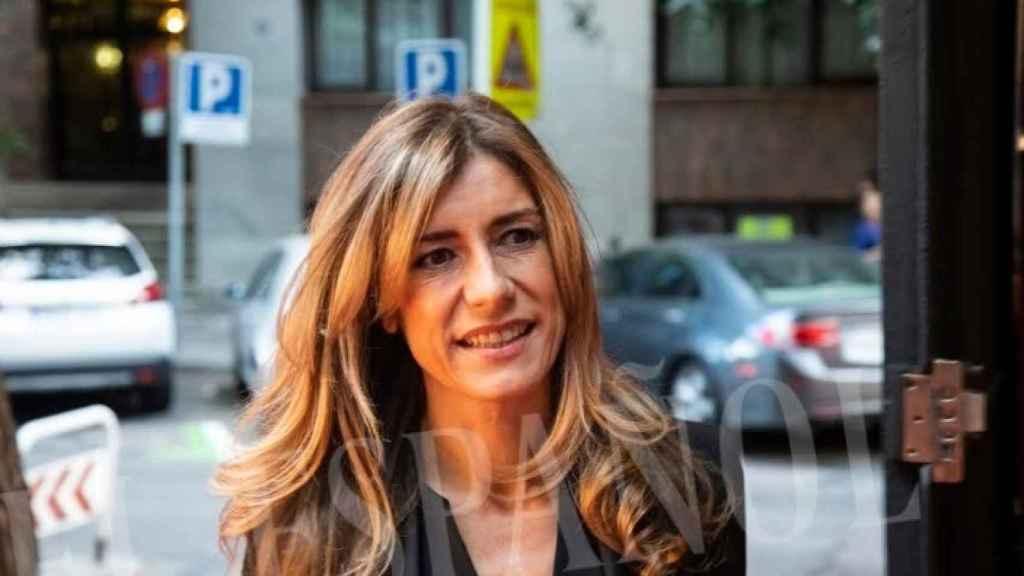 Begoña Gómez en su primer acto como primera dama.