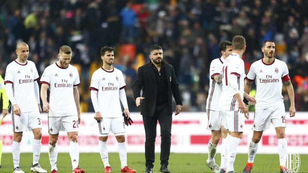 El Milan se queda sin Europa una temporada.