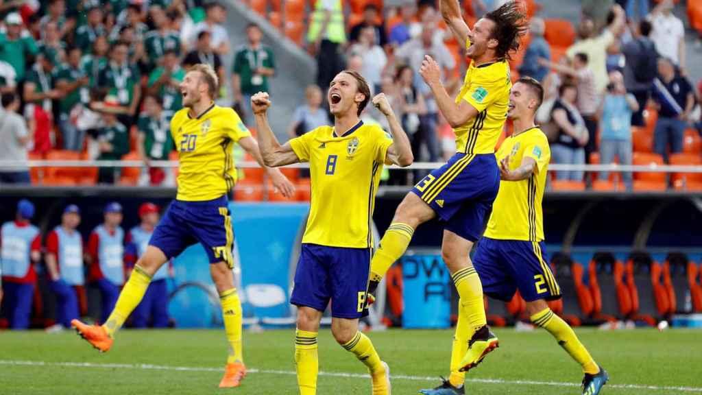 Suecia pasa a octavos de final como primera de grupo tras vencer a México.