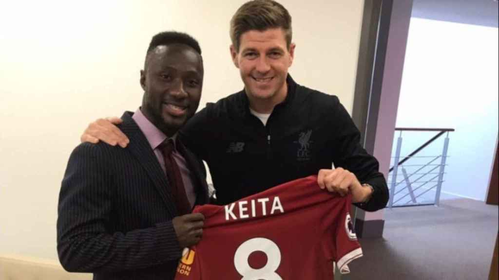 El Liverpool hace oficial el fichaje de Naby Keita