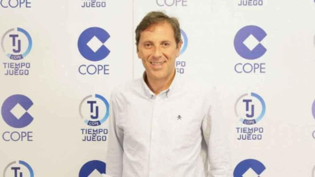 Paco González, director de Tiempo de Juego. Foto:cope.es