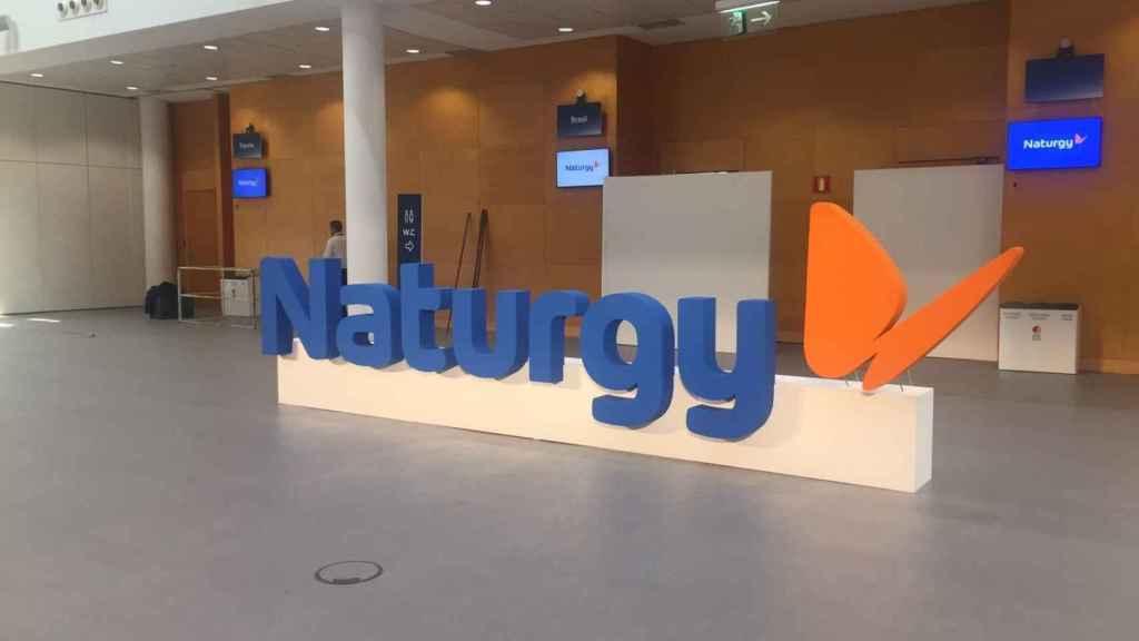 El logo de Naturgy.