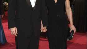 Johnny Depp y la madre de su hijo en una imagen de archivo.